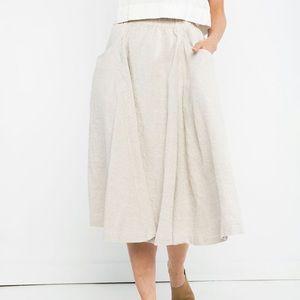 Elizabeth Suzanne Clyde Cotton Billow Skirt